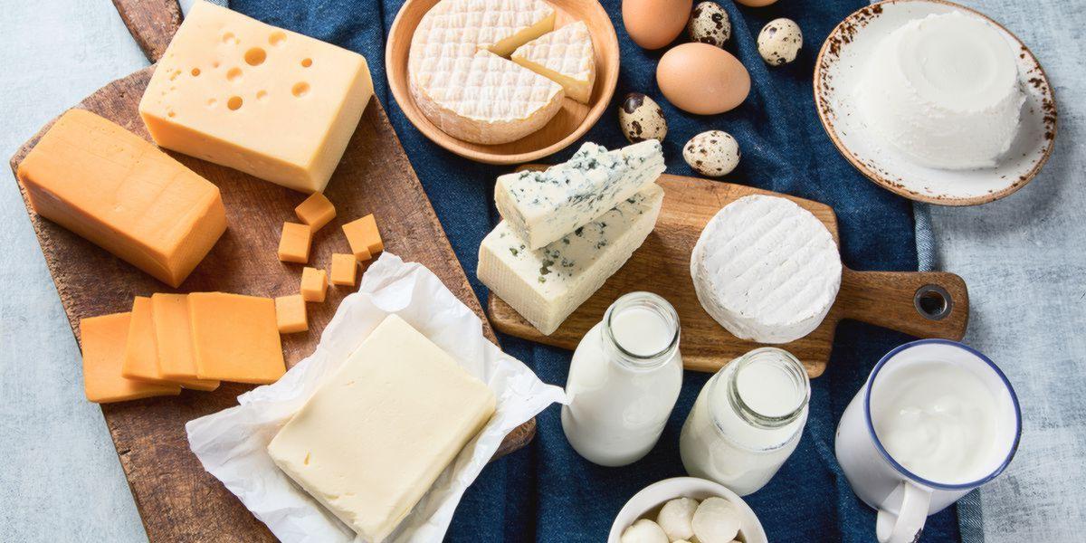Lácteos - Alimentos para Ganhar Massa Muscular