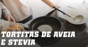 Tortitas de Aveia e Claras com Stevia