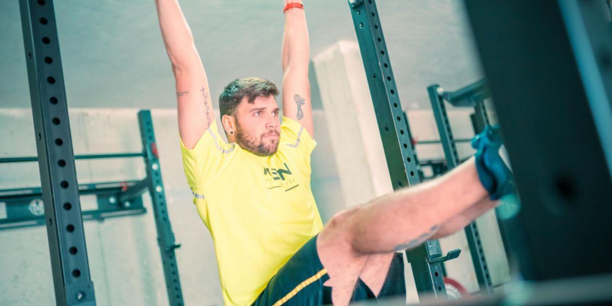 exercícios de elevação de pernas