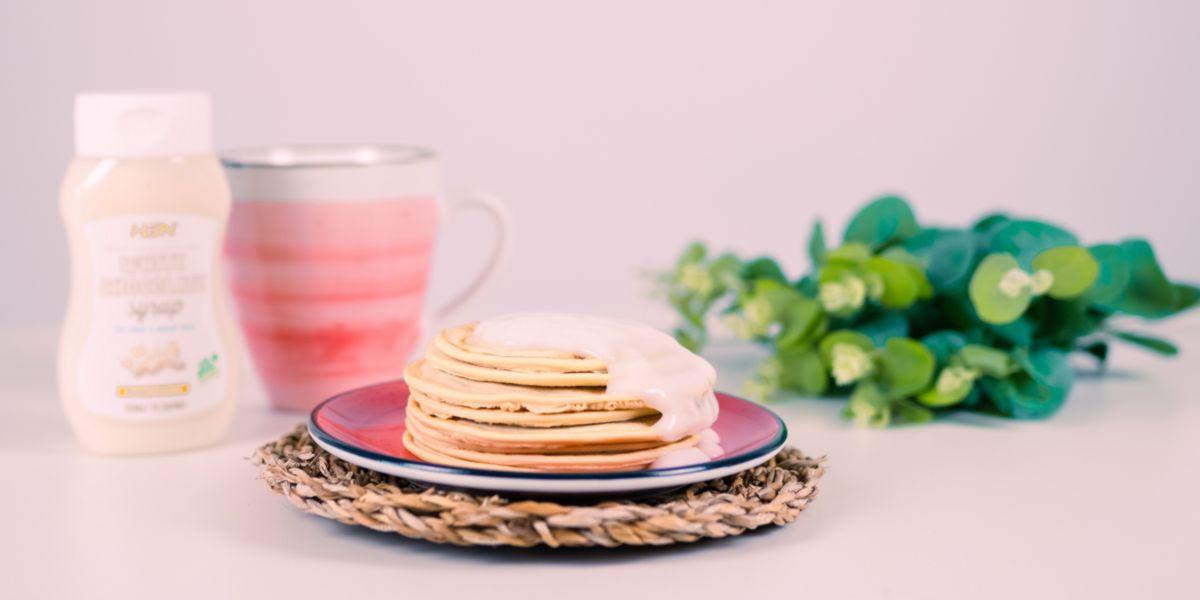 Panquecas para o pequeno-almoço