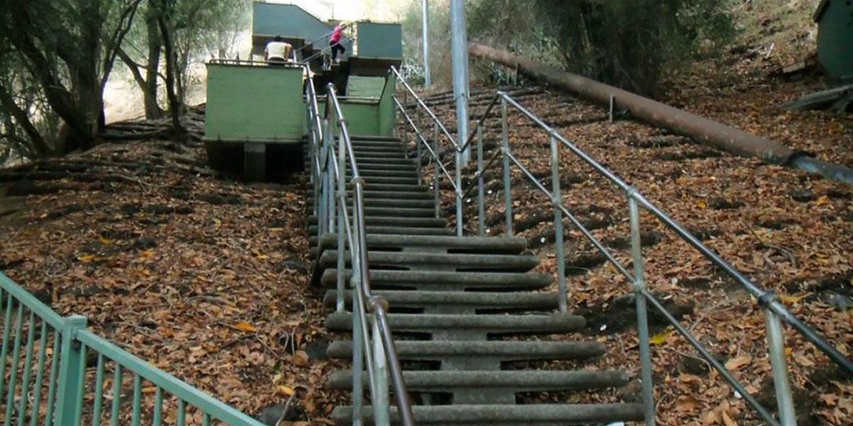 Treino em Escadas trabalho de força