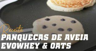 Panquecas de aveia evowhey & oats