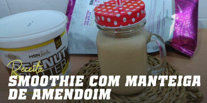 Smoothie de Manteiga de Amendoim