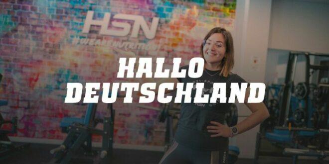 HSN, Bem-vinda Alemanha!