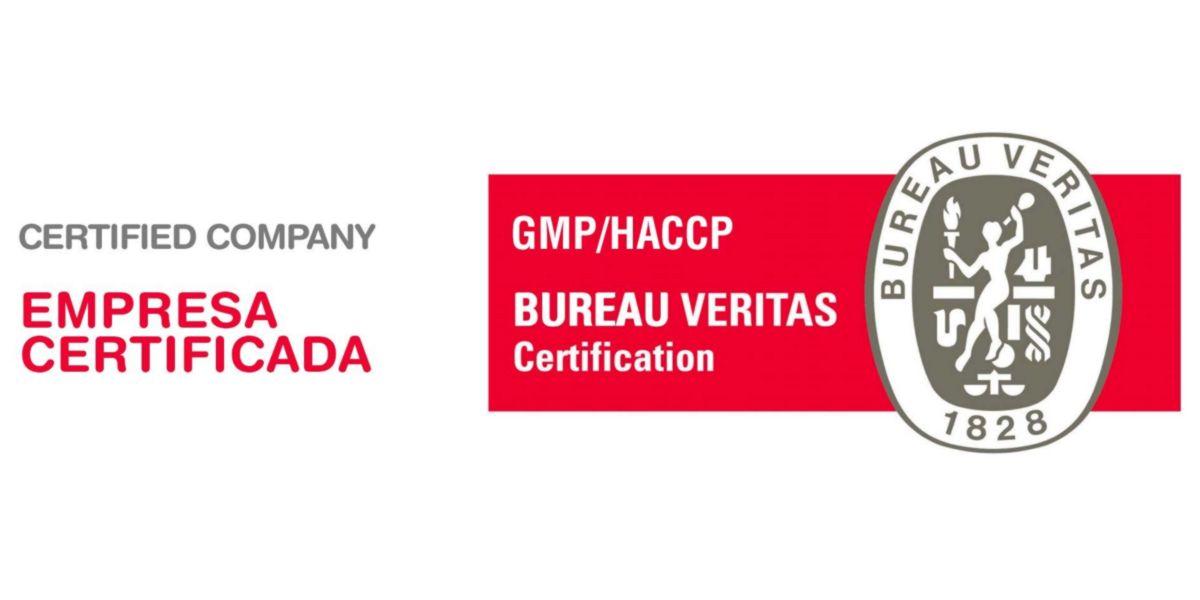 Empresa certificada HACCP e CGMP