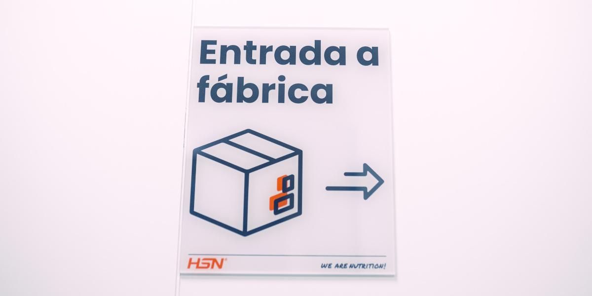 Entrada da fábrica HSN