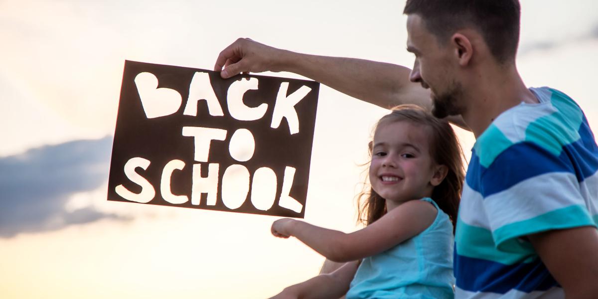 Regressa à escola após as férias