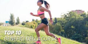 Top 10 benefici della corsa