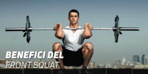 Benefici del front squat