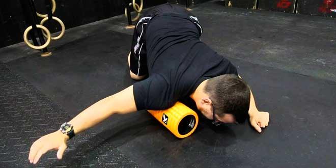 Massaggio con Foam Roller