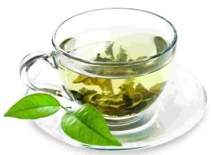 Tè verde in infusione