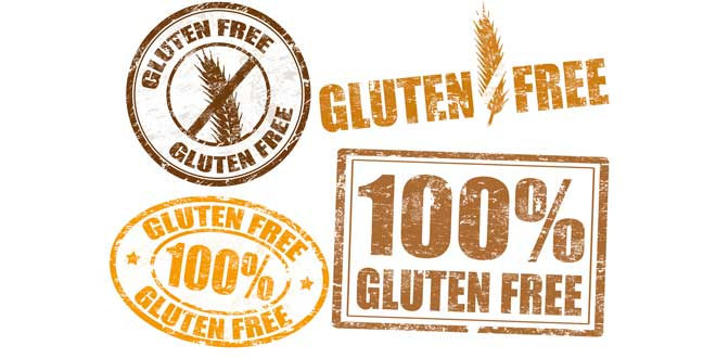 Etichette senza glutine