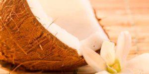 Olio di cocco a fondo