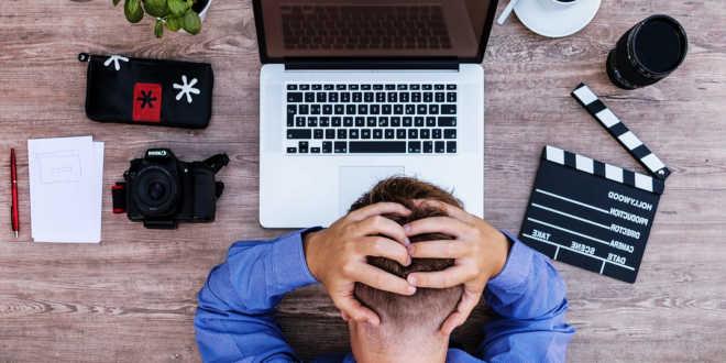 Esaurimento causato dallo stress