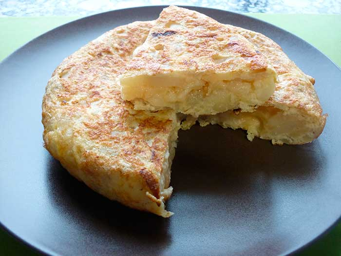 tortilla patate fitness