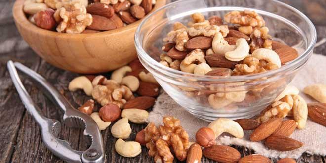 Frutta secca e proteine vegetali