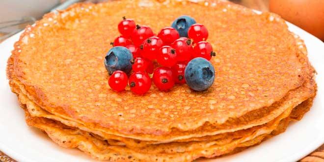 Pancakes di Avena con Dolcificante Naturale