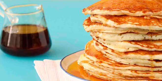 Pancakes di Avena utilizzando albumina d'uovo
