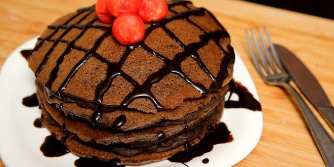 Pancakes di Avena con Cacao