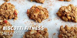Biscotti fitness alla mela