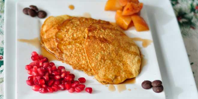 Ricetta di pancake di quinoa e avena