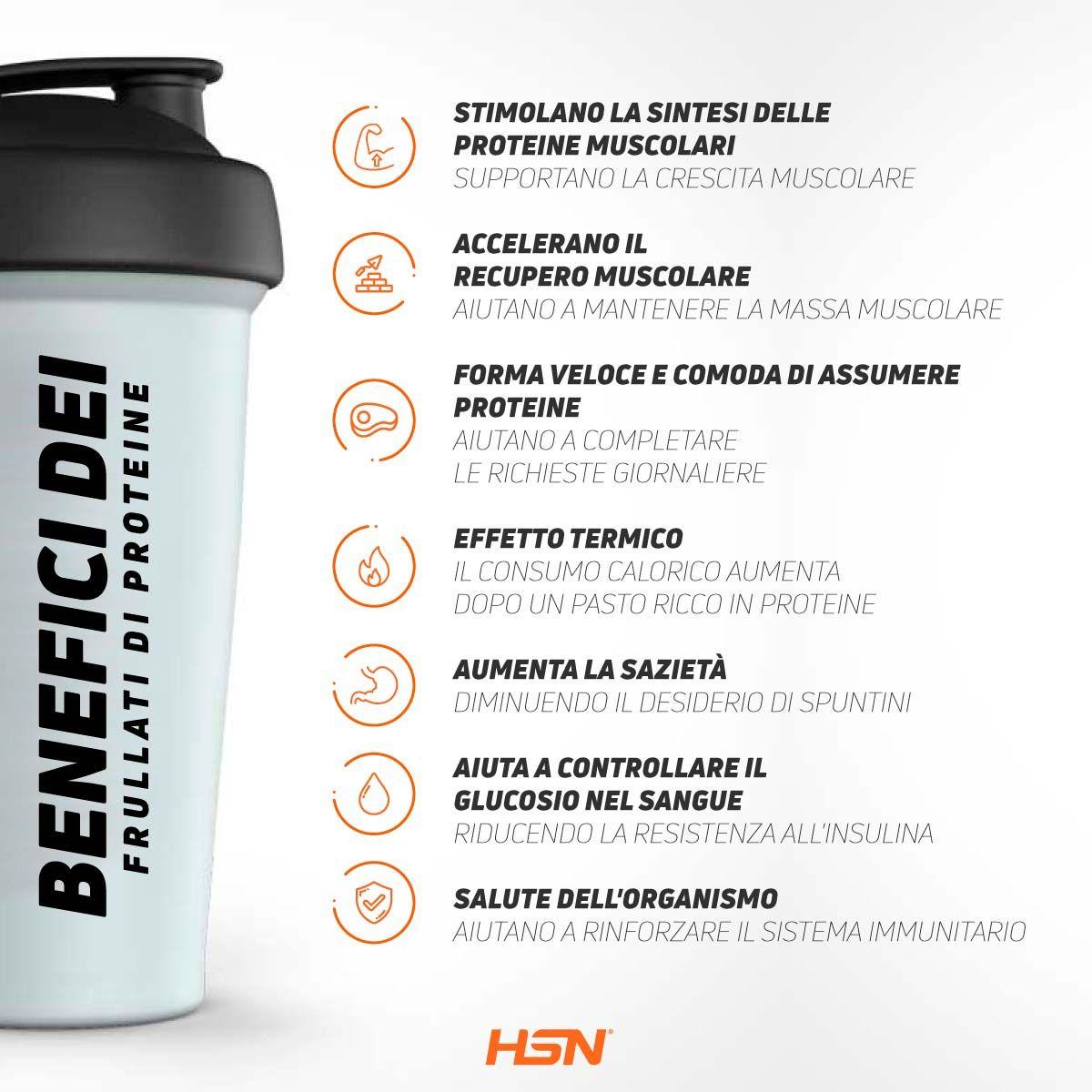 Benefici Frullati Proteine