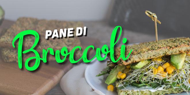 Sandwich con Pane di Broccoli