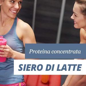 Proteina di siero del latte concentrata
