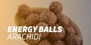 Energy balls al burro d'arachidi