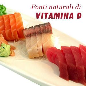 Fonti naturali di vitamina D
