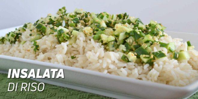 Ricetta insalata fredda con riso basmati