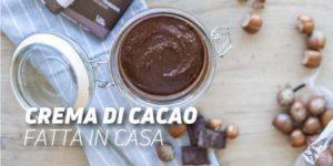 Crema di cacao casalinga