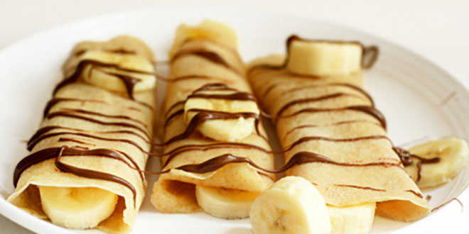 Crepes con whey protein