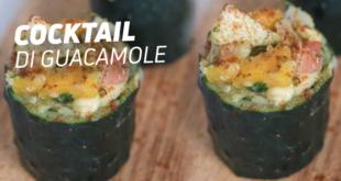 Cocktail di guacamole al mango