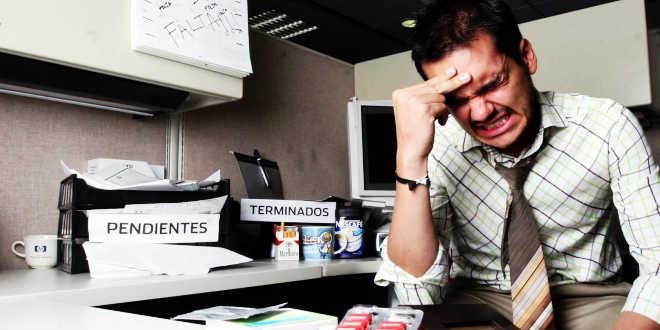 Stress causato da lavoro eccessivo