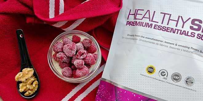 Delizioso dolce proteico vegano