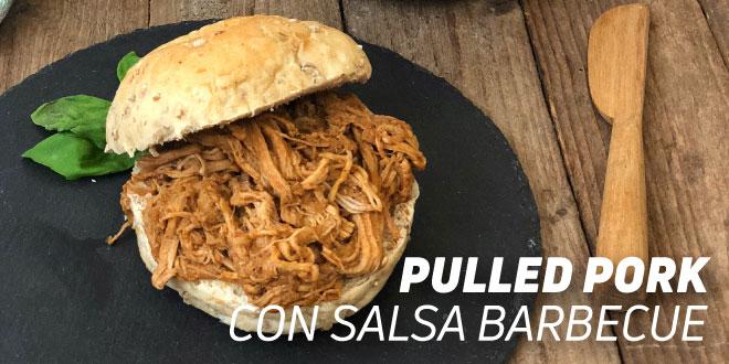 Pulled Pork con Salsa Barbecue