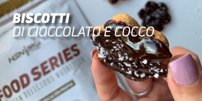 Biscotti di Cioccolato e Cocco Salutari
