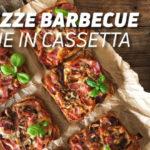 Minipizze con salsa barbecue