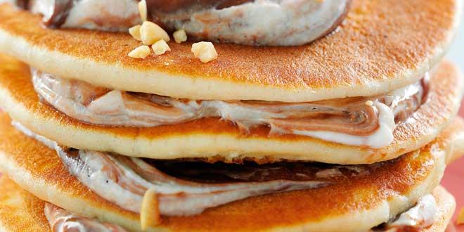Pancakes di Avena con Topping di Caffè