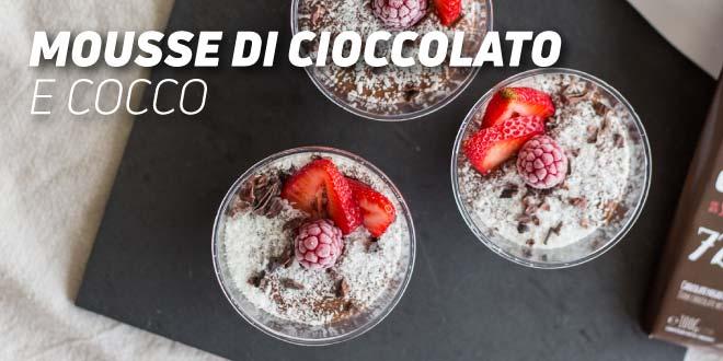 Mousse di Cioccolato e Cocco