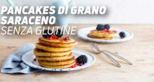 Pancakes di grano saraceno senza glutine