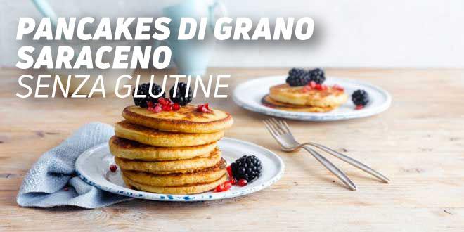 Pancakes di Grano SaracenoSenza Glutine