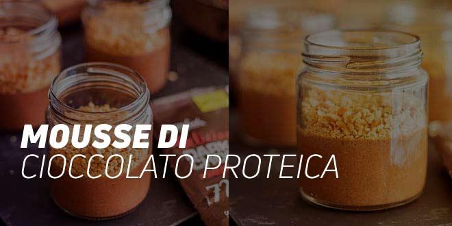 Mousse di Cioccolato Proteica