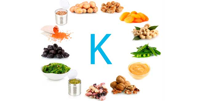 Il K negli alimenti