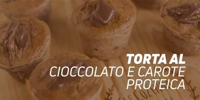 Torta al Cioccolato e Carote Proteica