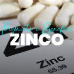Propietà e benefici di zinc