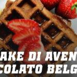 Pancake di Avena per Waffle con Cioccolato Belga