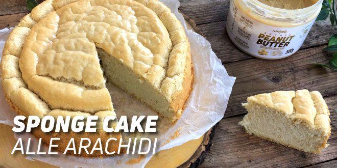 Sponge Cake alle Arachidi