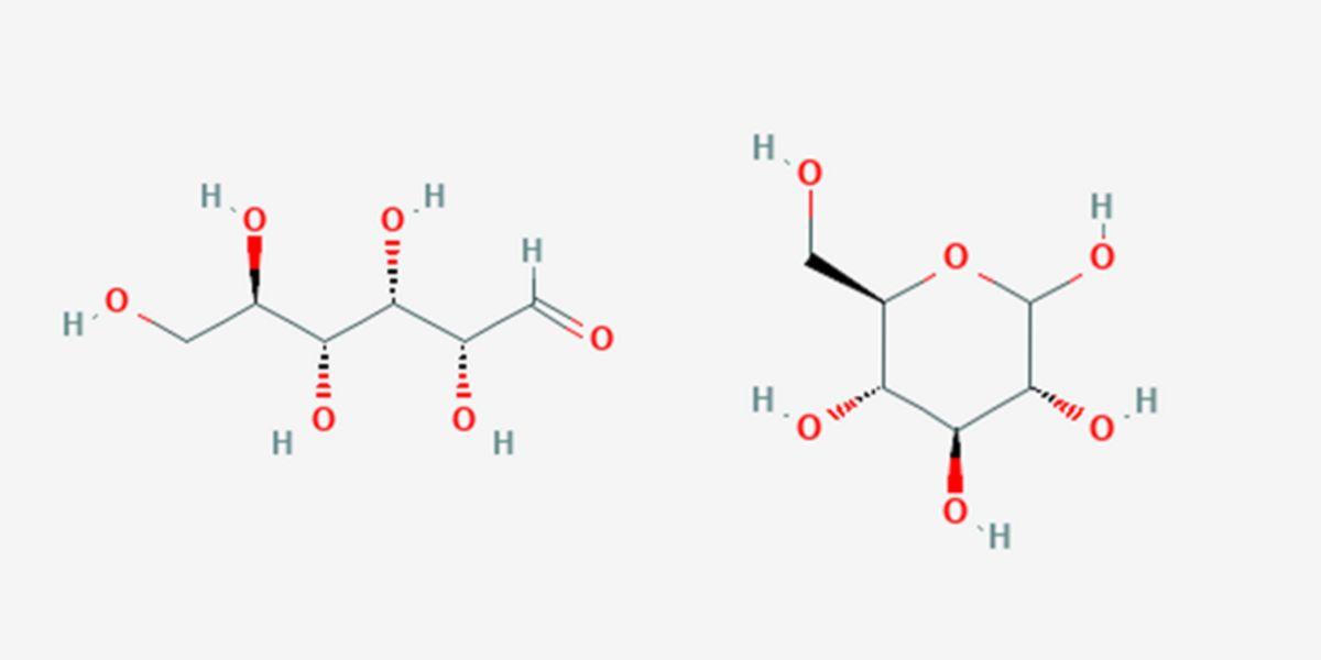 figura 3 struttura chimica destrosio
